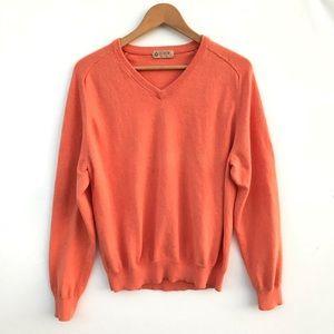 J Crew Size S Sweater Pullover V Neck 8% Cashmere
